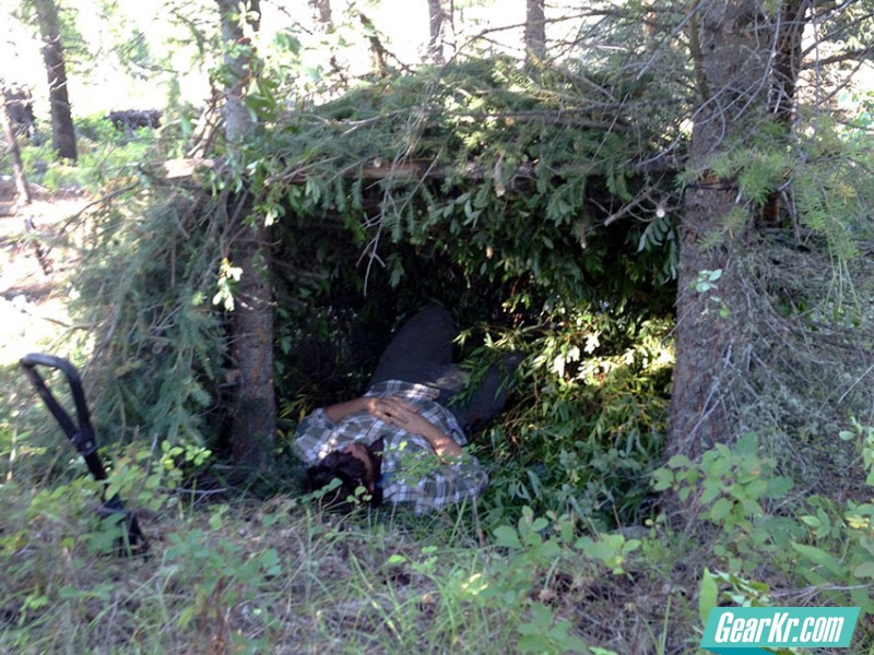 survival-tech-lean-to-laying-down