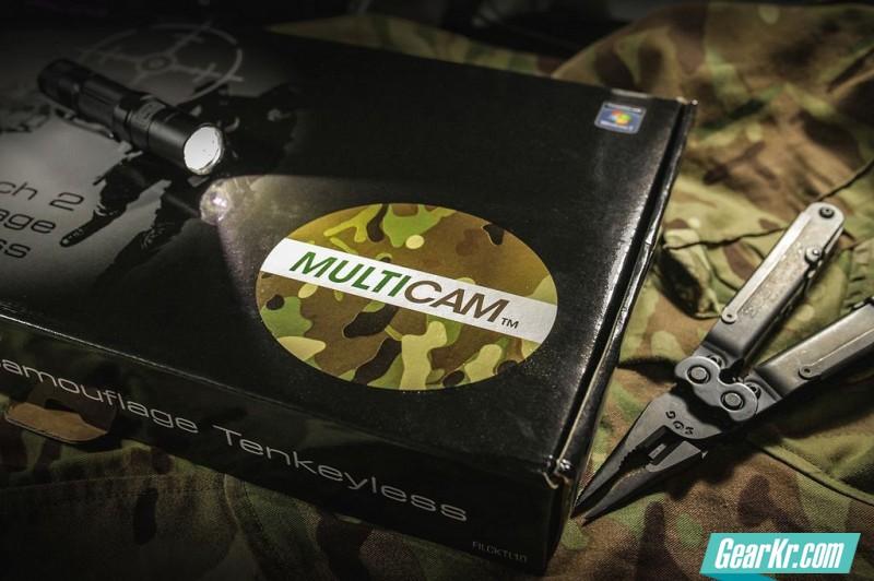 键盘特种兵专用——FILCO圣手2 Multicam版黑轴伪开箱