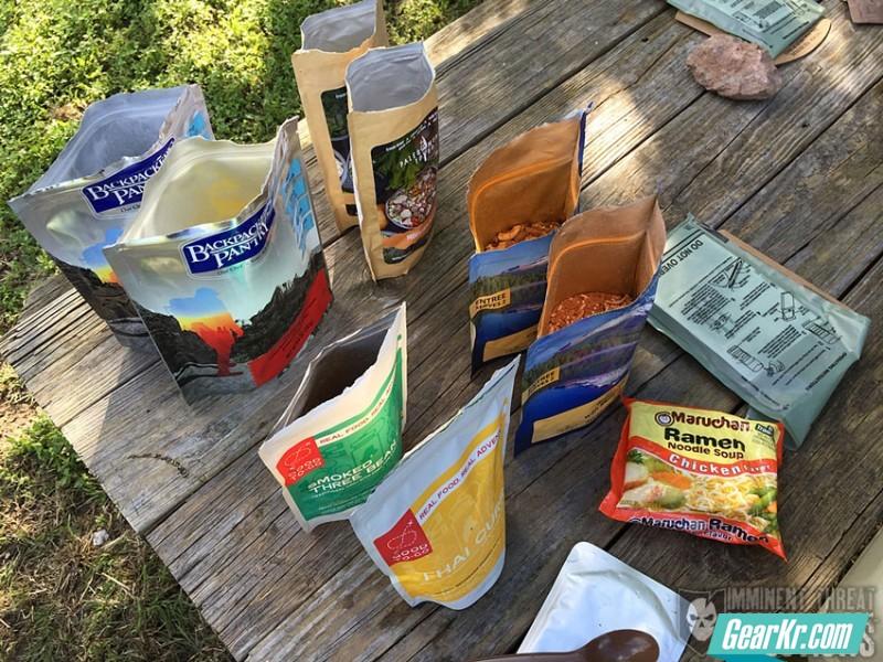 户外餐饮指南——11项户外餐食测评