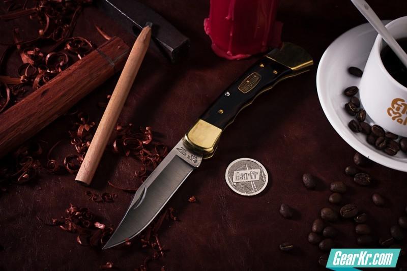 让切割成为享受——巴克BUCK110 50周年全铜纪念指槽版小品