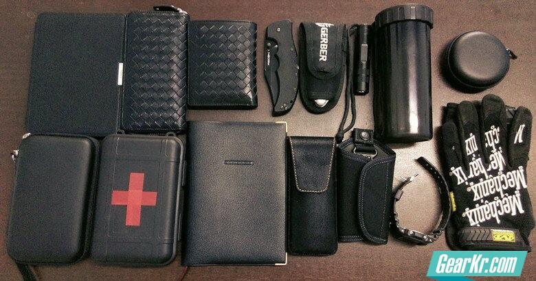 扒一扒自己的背包,黑色控and收纳控的EDC。