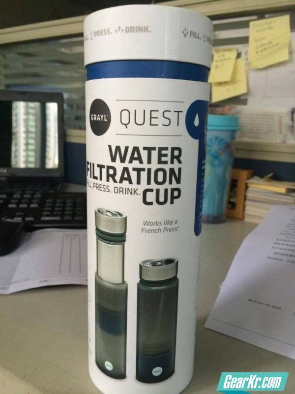 GRAYL过滤水杯的评测报告