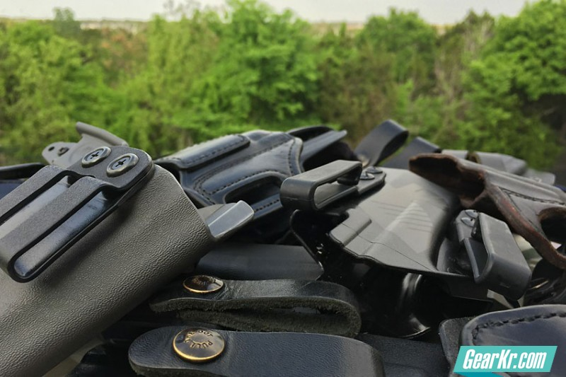 隐蔽携行:4个步骤,找到属于你的枪套