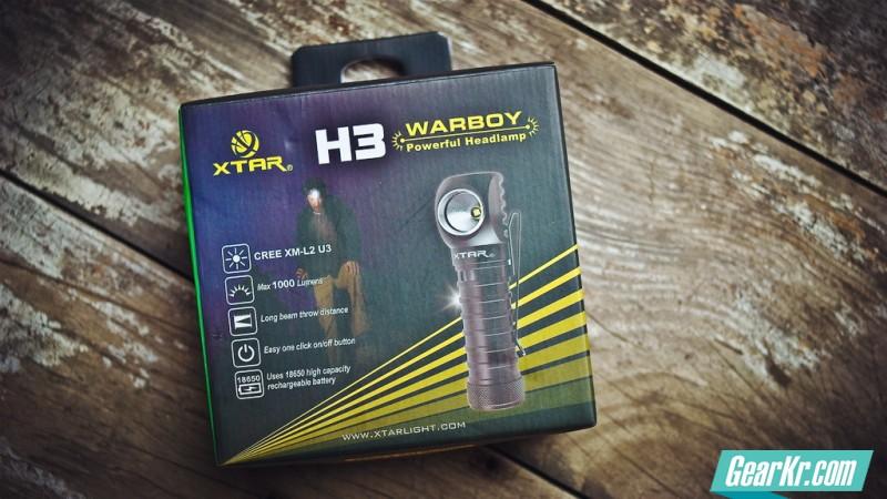 """XTAR H3 """"L""""型多用途手电评测"""