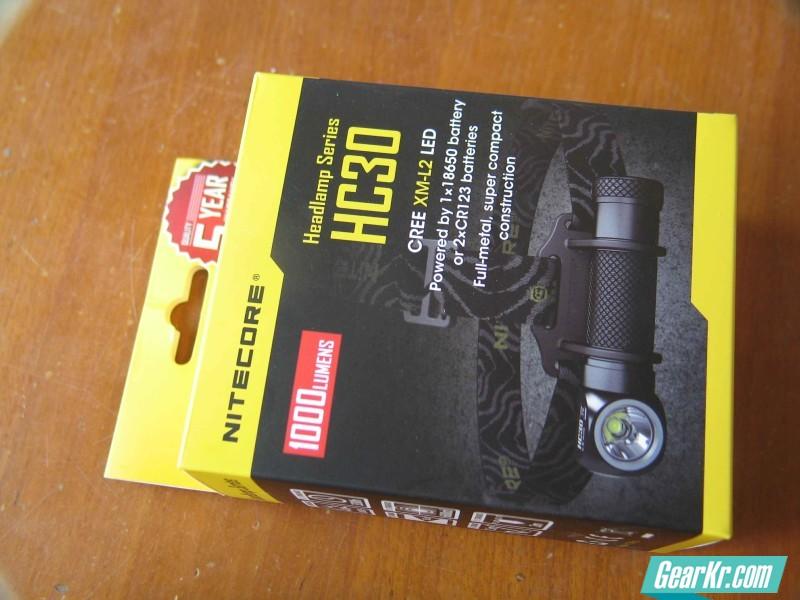 NITECORE HC30头灯评测 多图 光斑 拆解等,慎入  LL0899出品