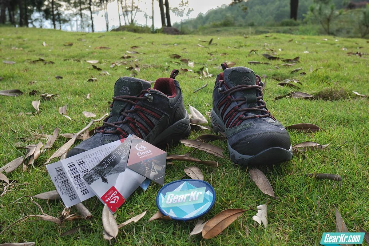 CLORTS 洛弛HKL-831A徒步鞋试用报告