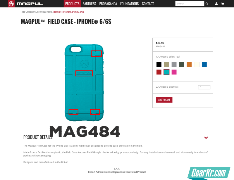 Magpul™ Field Case – iPhone® 6 6s