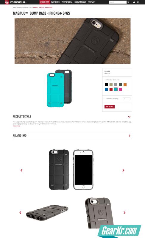 Magpul™ Bump Case – iPhone® 6 6s