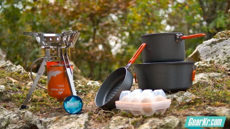 我的移动厨房——火枫泰坦野营气炉试用评测