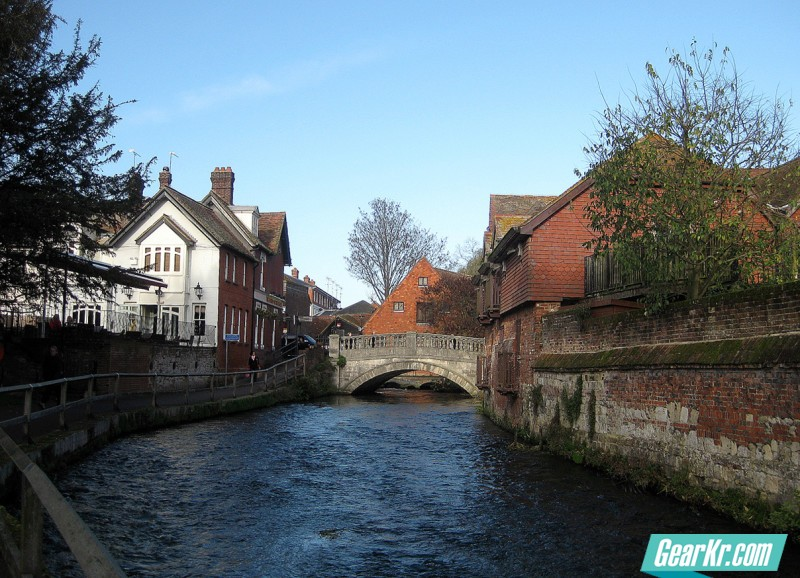 Winchester - the river itchen 4 Nov 11