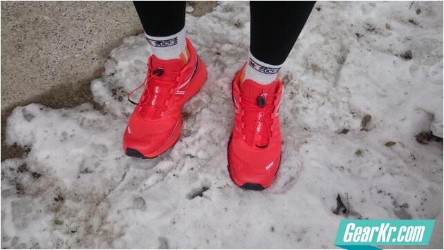 所罗门的宝藏之狂野的大脚——Salomon S-LAB WINGS专业男款越野跑(大红鞋)鞋评测报告