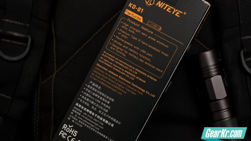 NITEYE KO-01-003