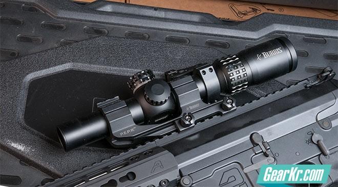 光学瞄准镜评测:Burris XTR II 1-5x24mm战术瞄准镜
