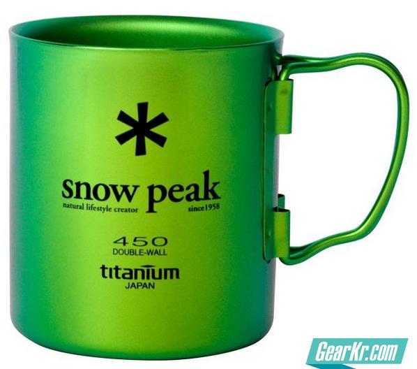 闲谈 Snow Peak Titanium 450 Double Wall 双层 钛杯