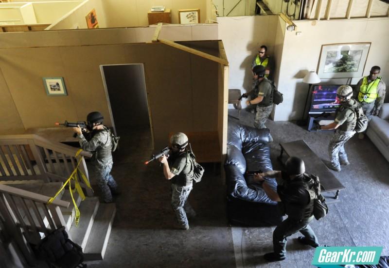 SWAT training 6_25_13