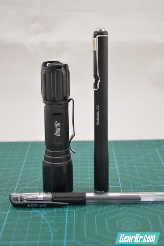 大隐隐于市 低调的战术 NEXTORCH K3 手电使用评测