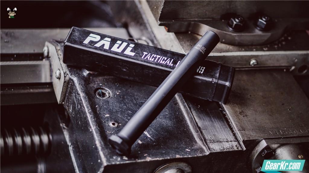 轻巧精悍——Paul Tactical 特勤轻型甩棍使用测评