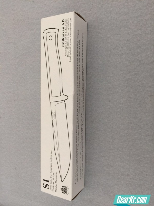 Fallkniven S1开箱