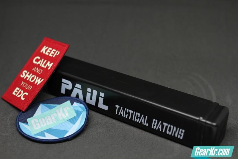 丰富我们的EDC——PAUL 特勤轻型甩棍