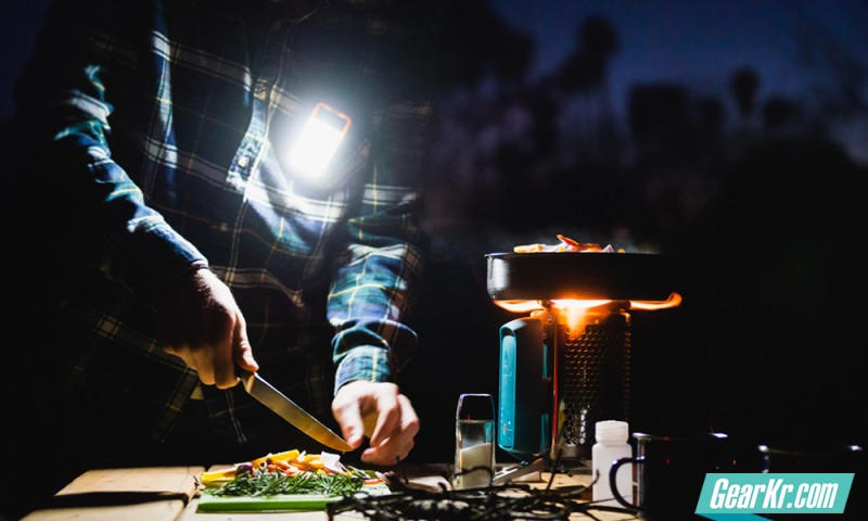新户外能源系统——BioLite绿色野营三件套