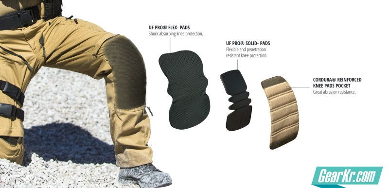 THE UF PRO® 3-LAYER KNEE PROTECTION SYSTEM