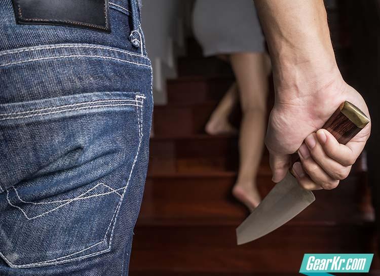如何应对来自背后的持刀袭击