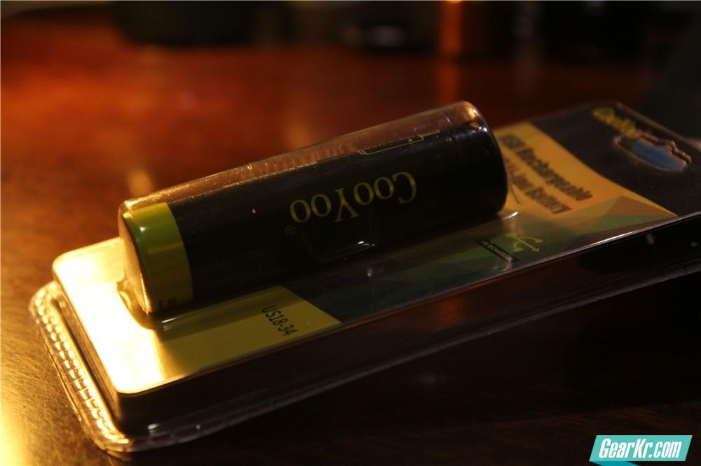 充电器缺失?不用怕——COOYOO USB直充18650