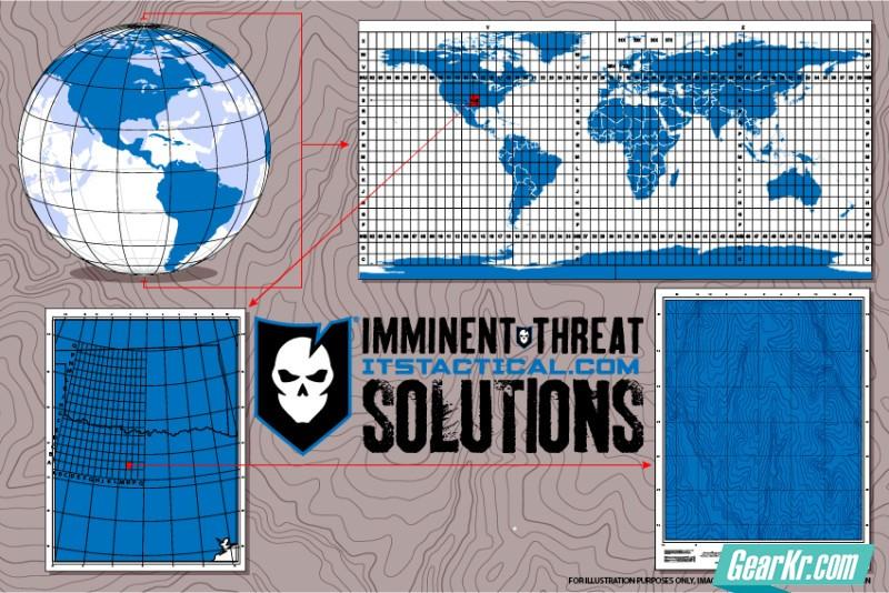 军用方格基准系统MRGS陆地导航技术指南