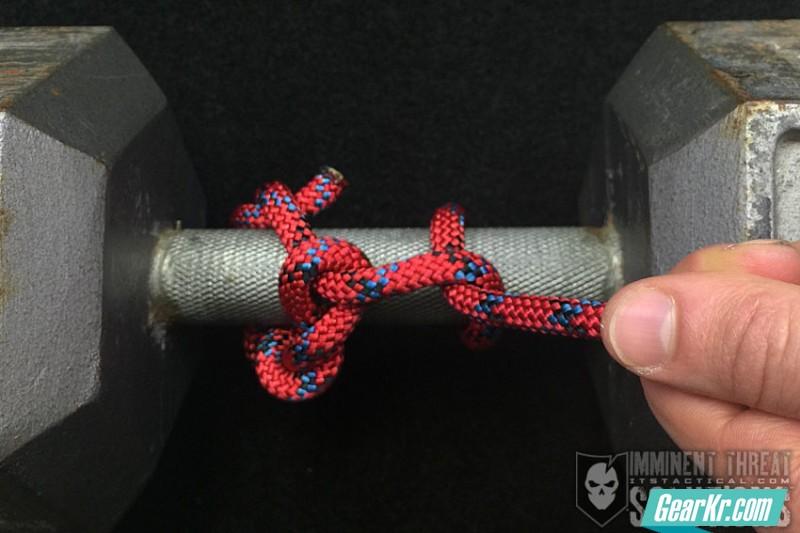 如何用绳子打出万能的伐木结