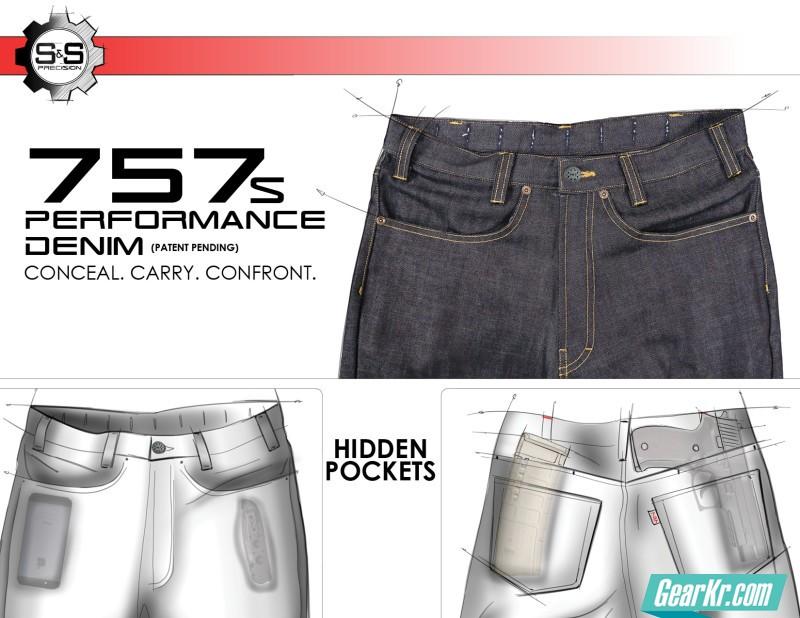小众精品系列之S&S PRECISION 757战术牛仔裤