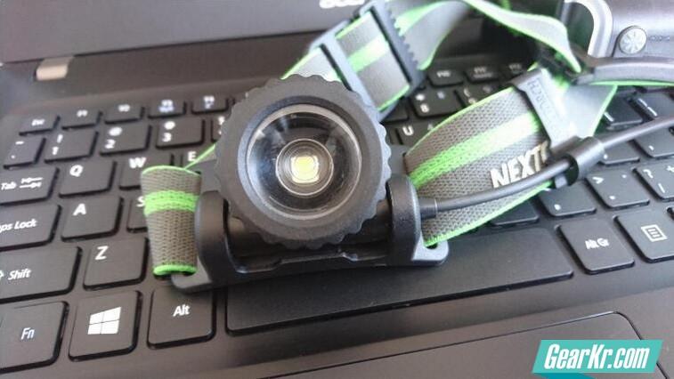 纳丽德myStar 360°旋转调焦USB直充头灯评测报告——之TNF100实测