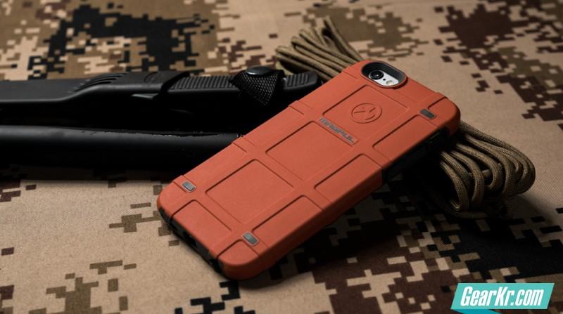 只为那一抹骚橙—MAGPUL iphone 战术手机壳