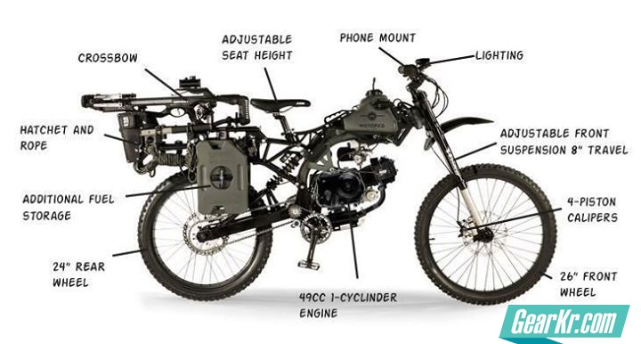 survival-motoped