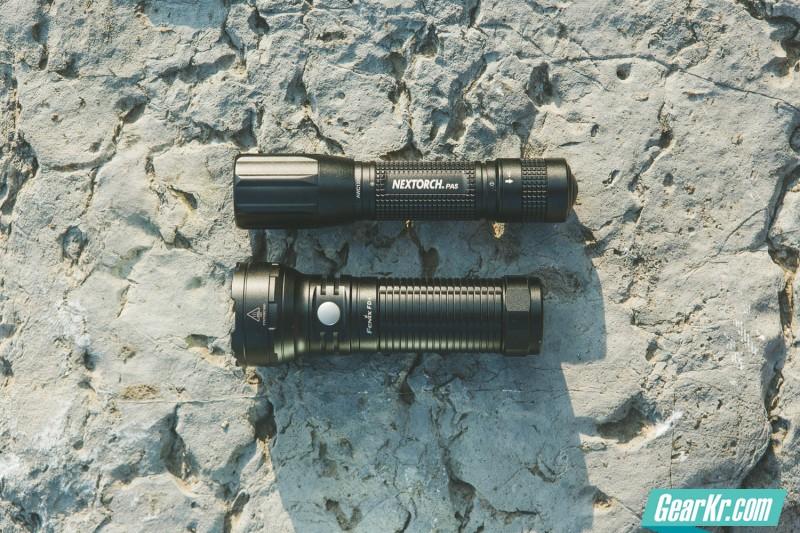 鱼与熊掌兼得 Nextorch PA5/Fenix FD40变焦强光手电对比评测