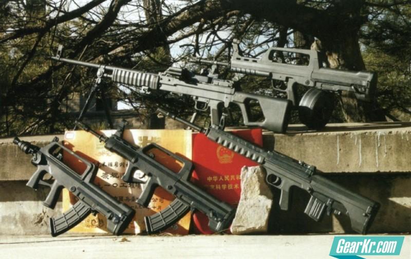 无托枪发展简述(二)——中国无托枪发展