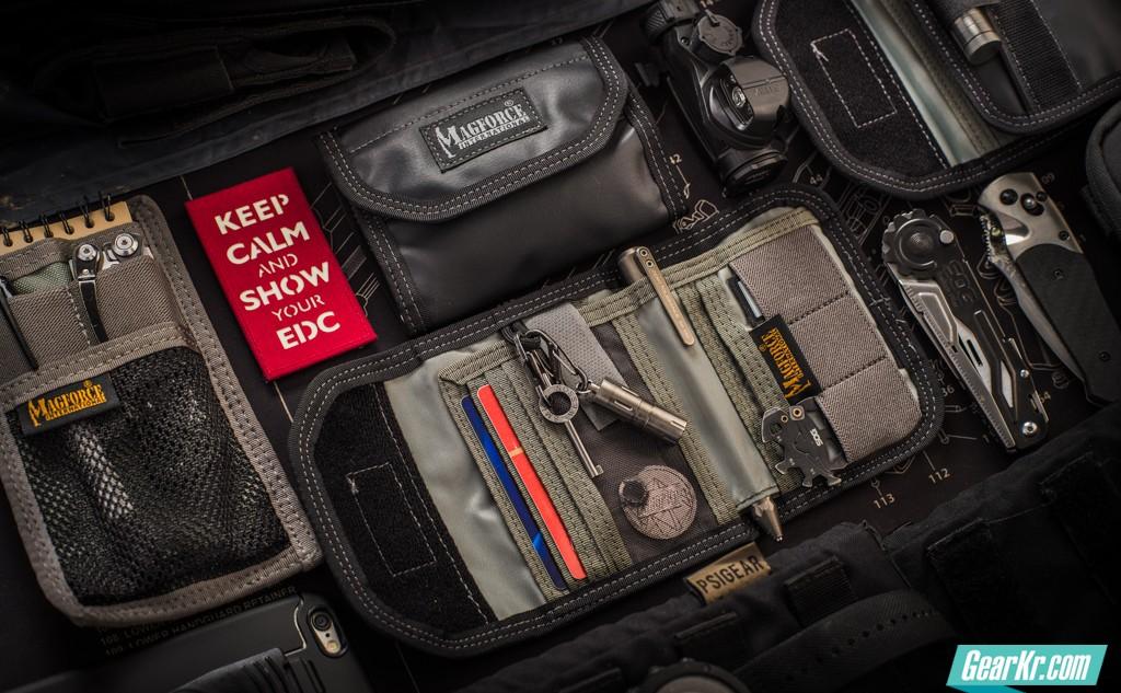 拒绝烂尼龙,简洁精巧的战术——2016款Magforce EDC-1注胶战术钱包