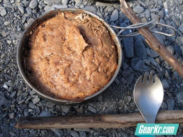 在山野露营中也可以做面包?!