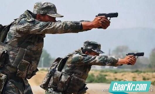 92式手枪最新改进型QSZ92G式9mm手枪