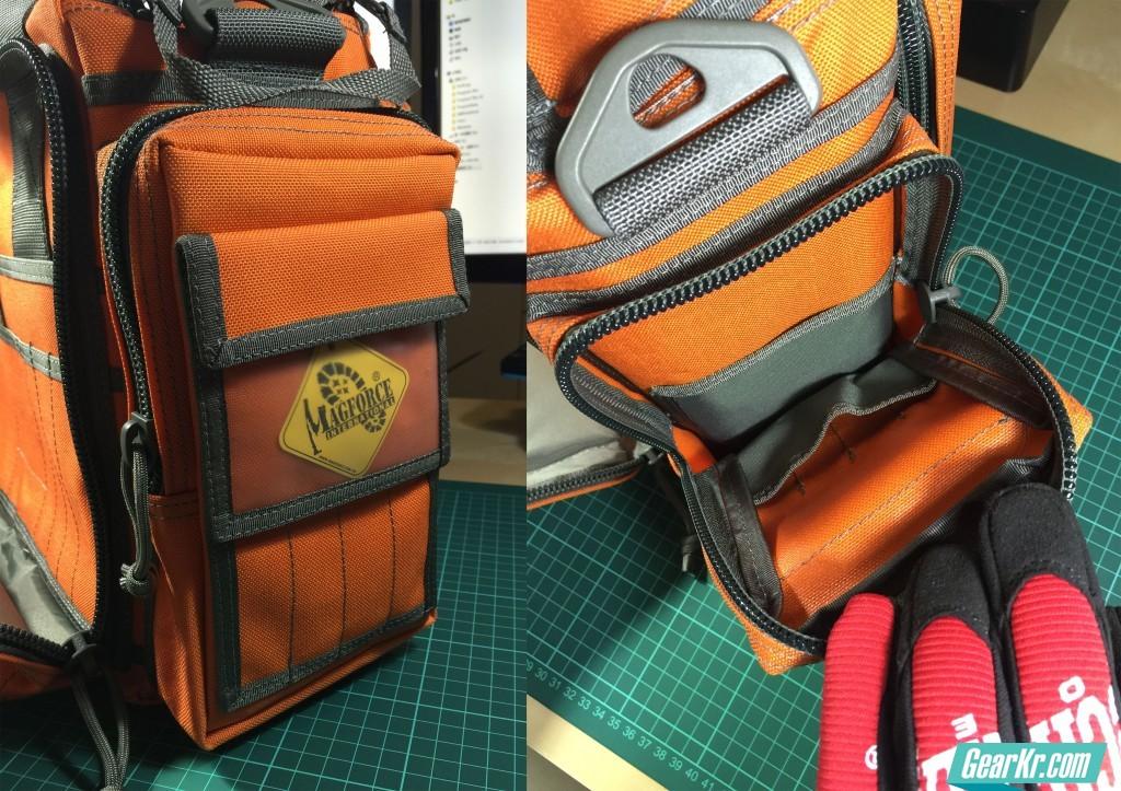 018右侧的带有透明证件袋的副仓:看上去很漂亮而且正好放下我的钱夹