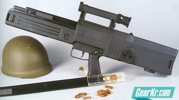 G11无壳弹步枪及其使用弹药