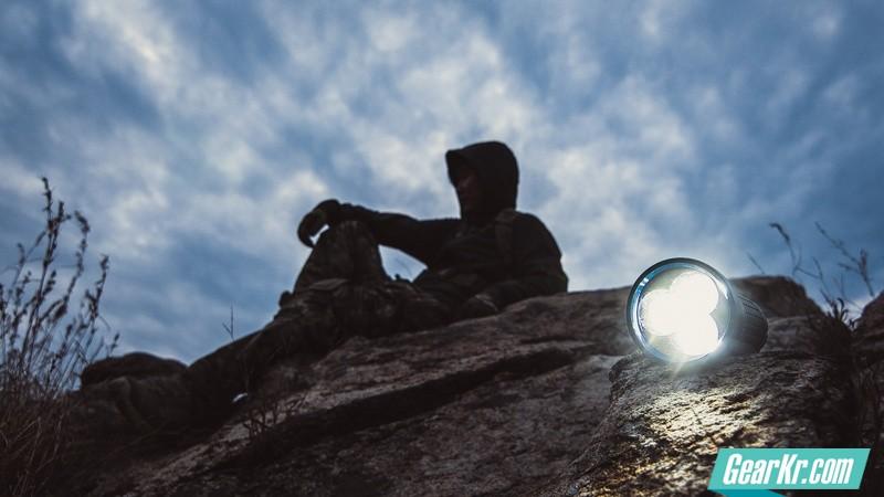 撕裂黑夜—— 9000流明 Olight X7(掠夺者)使用感受