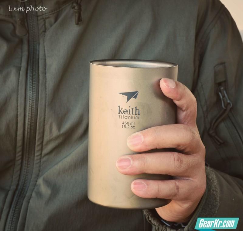 神融气泰——Keith铠斯双层纯钛水杯使用有感