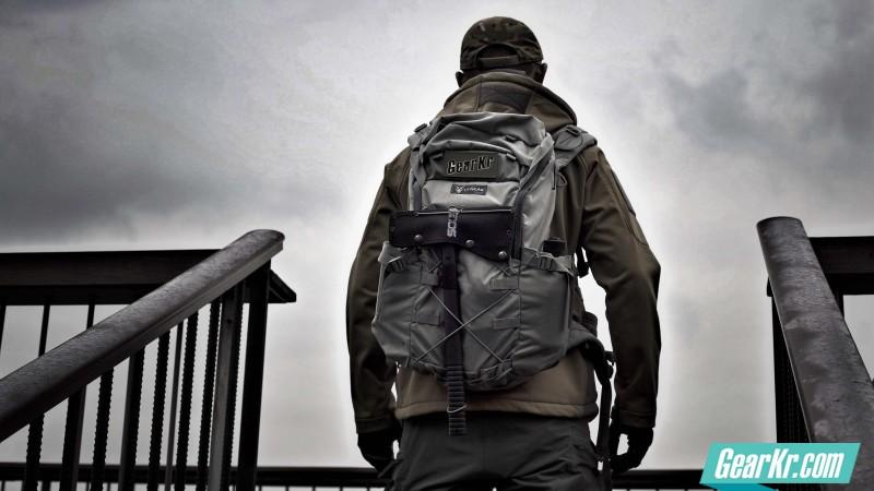 城市户外都轻量,Lii Gear 23L daypack战术版背包