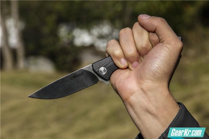 悍迪守护者陶瓷珠轴承快开折刀12