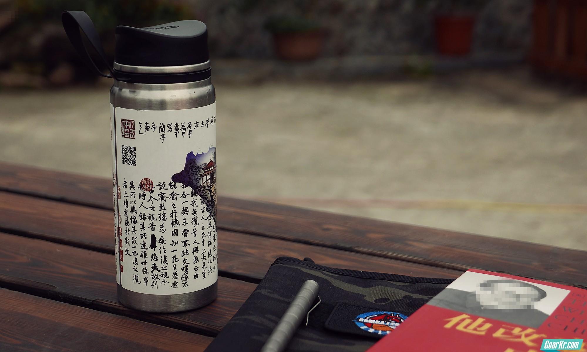 黑鹿 BLACKDEER 3代目 便携真空不锈钢保温水杯简评