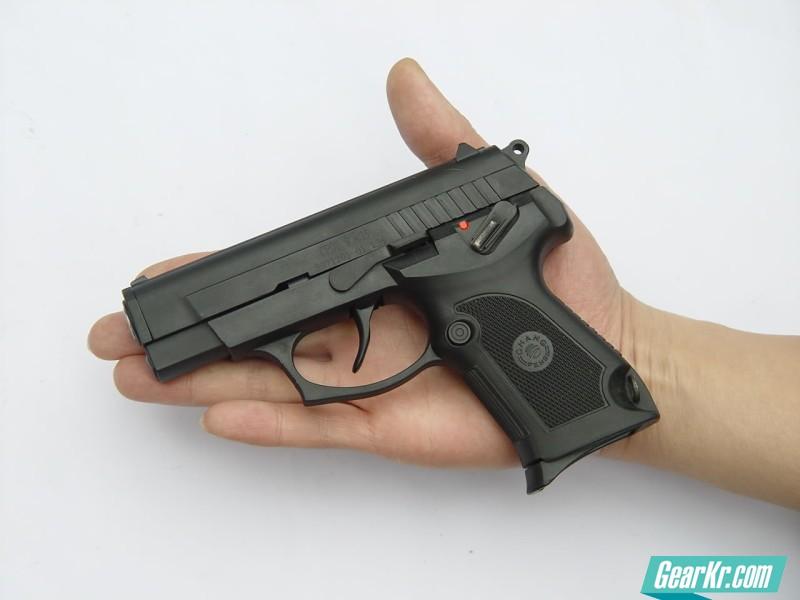 夭折的中国警用枪械新秀:CF07式9毫米手枪