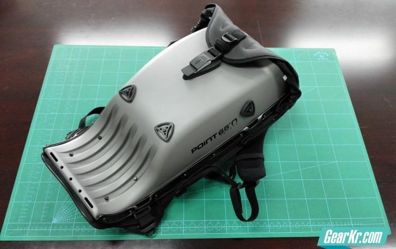 POINT65北纬65度GTX25航空款防护硬壳背包伪测评