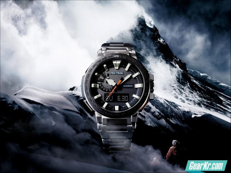 CASIO PRO TREK PRX-8000T MANASLU登山表测评