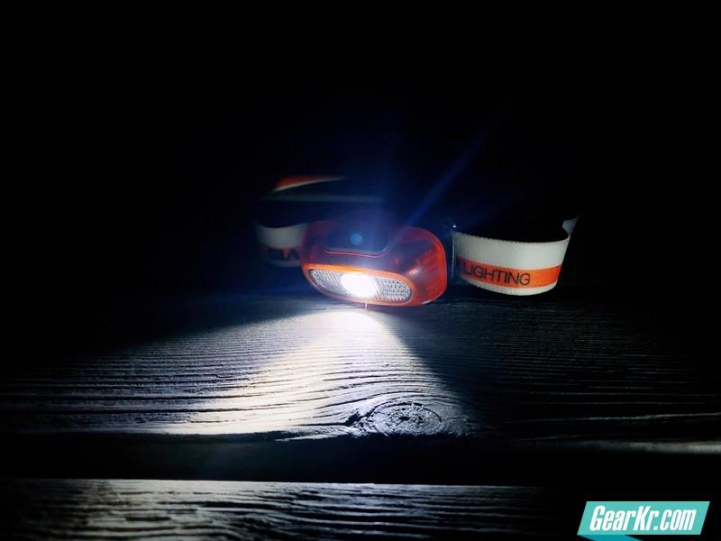 天眼–GLAREE山瑞L20轻量化运动头灯
