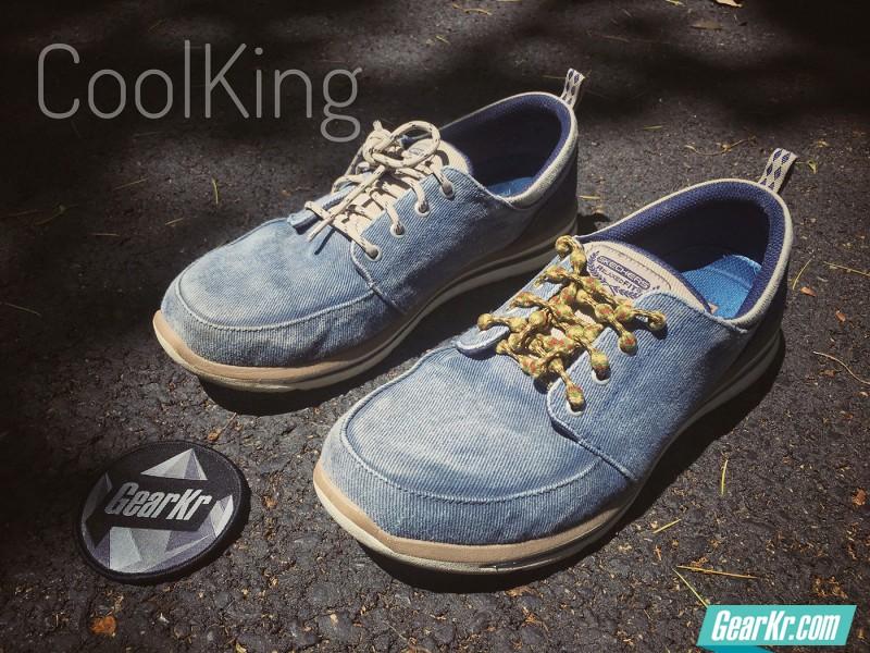 慢跑鞋带的便利之选——COOLKNOT鞋带评测